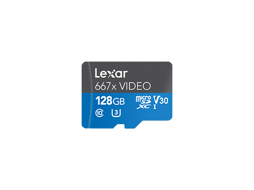 Карта Lexar Professional 663x VIDEO micro SDXC UHS-I 128GB для экшн-камер и дронов